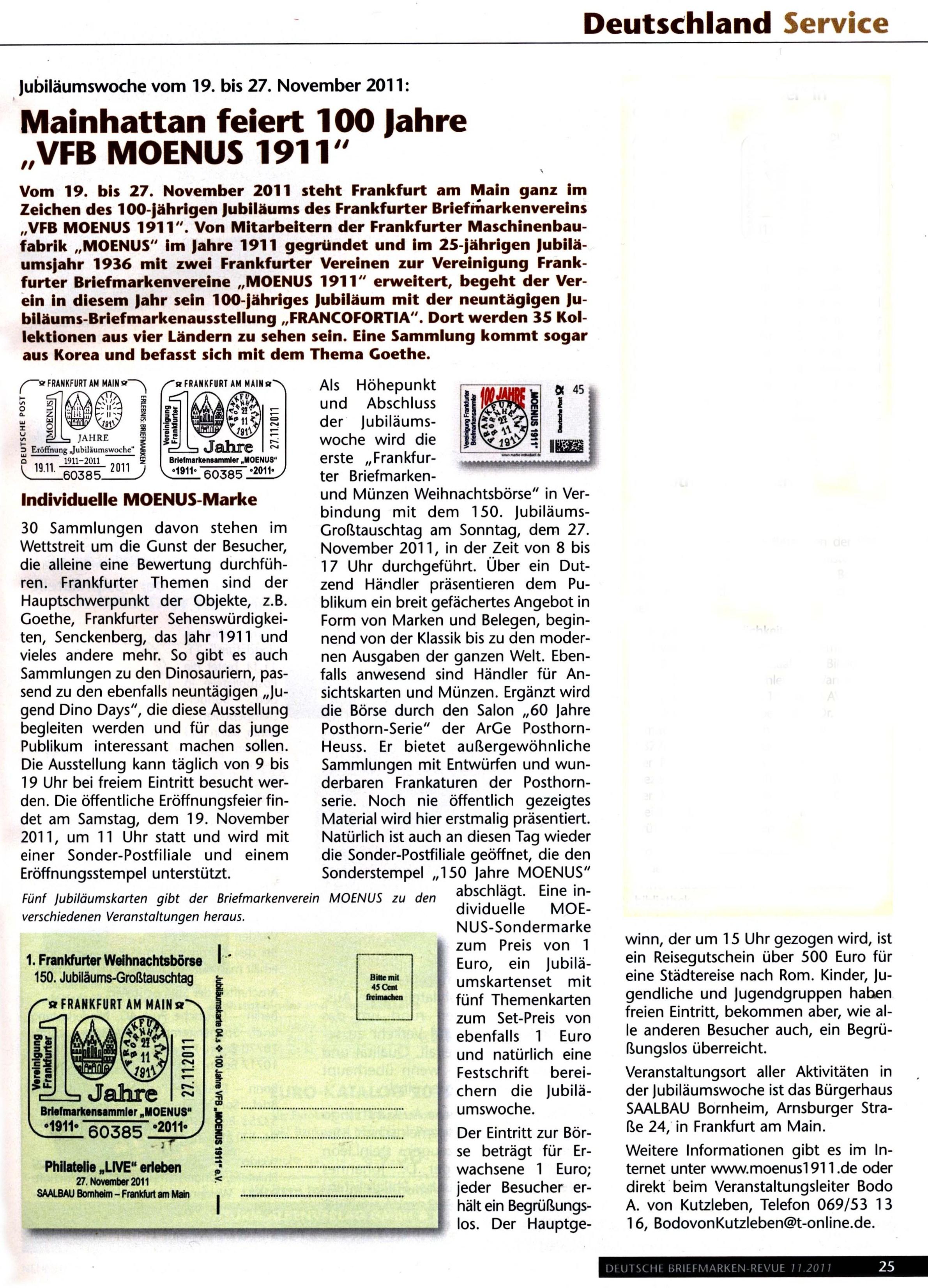 100 Jahr Feier Presse